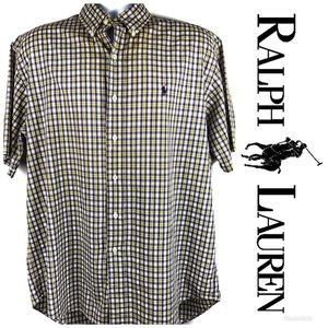LIKE NEW RALPH LAUREN Blake Button Down Shirt Sz M
